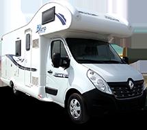 Obytný vůz Renault Master BluCamp